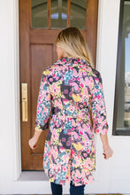 Load image into Gallery viewer, Floral Whimsy Trench