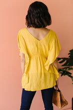 Load image into Gallery viewer, Fly Away Home Blouse In Honey