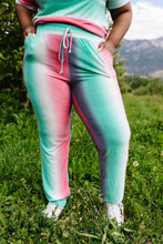 Load image into Gallery viewer, Hazy Pastel Stripes Lounge Joggers