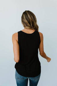 Lace & Shoulders Above The Rest Top In Black