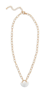 Noonday Collection: Locked Link Necklace