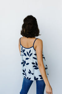 New Leaf Cami In Blue