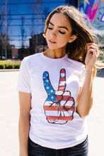 Load image into Gallery viewer, Peace In America Graphic Tee