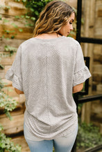 Load image into Gallery viewer, Perfect Type Pinstripe Top In Gray