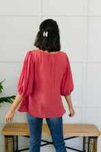 Load image into Gallery viewer, Persimmon Peasant Blouse