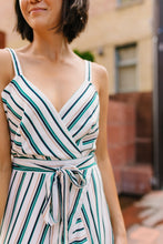 Load image into Gallery viewer, Scarborough Fair Wrap Dress