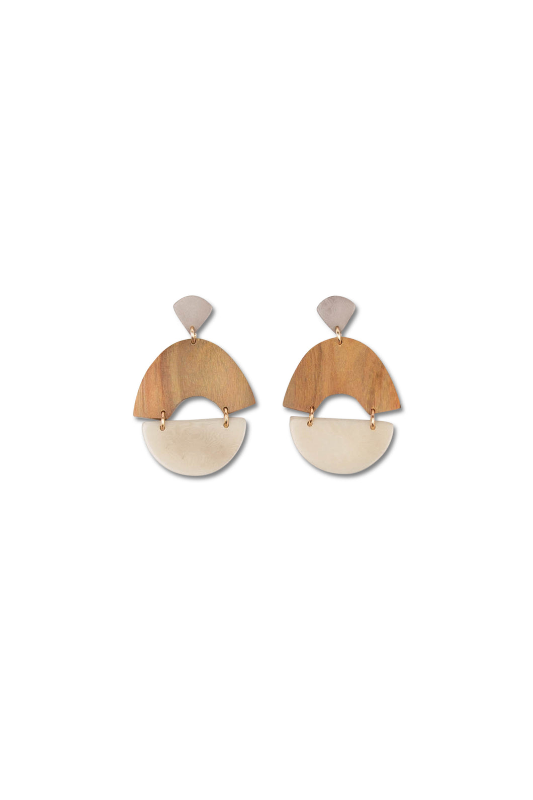 Noonday Collection: Sundial Earrings