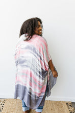Load image into Gallery viewer, Sunset Streaked Kimono