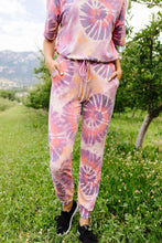 Load image into Gallery viewer, Swirly Tie Dye Lounge Joggers