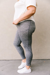 Tadasana Two-Tone Leggings