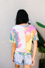 Load image into Gallery viewer, Tie Dye Swirls Top In Yellow