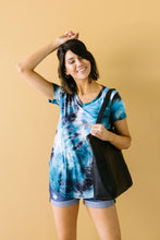 Load image into Gallery viewer, Turquoise Tie Dye Fantasy Top