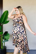 Load image into Gallery viewer, Wild Muse Wrap Dress