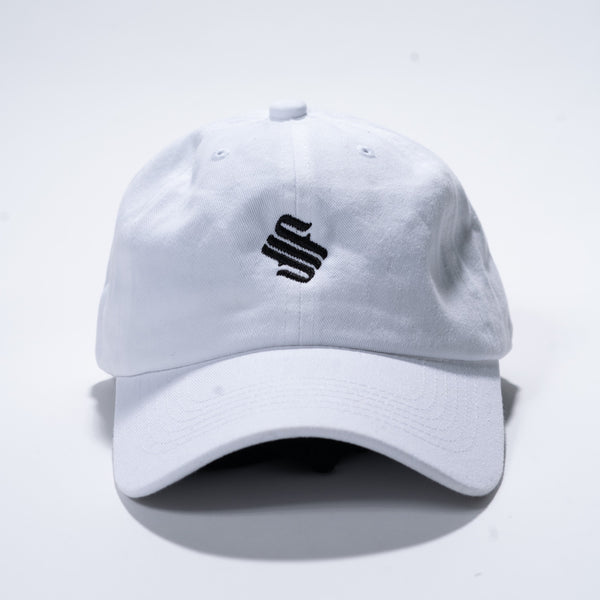 MFS Studio Logo Dad Hat - White