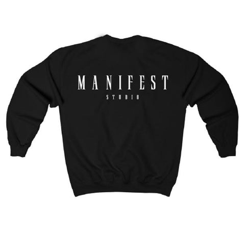 MFS Studio Black Crew Neck Sweater