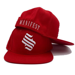 MFS Studio Logo Snapback Hat - Red