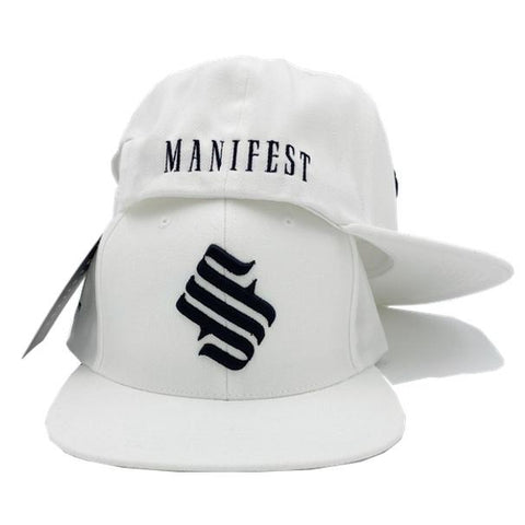 MFS Studio Logo Snapback Hat - Off White