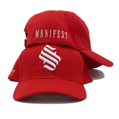 MFS Studio Logo Velcro Hat - Red