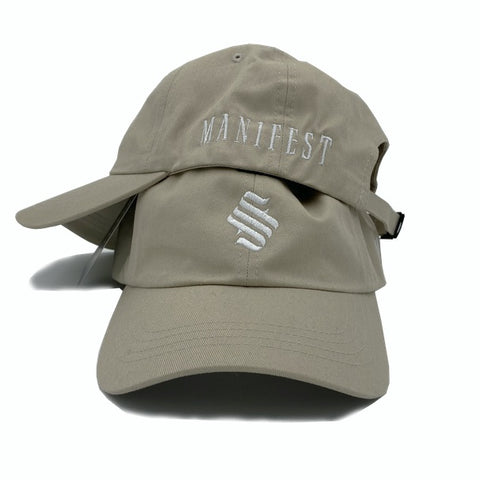 MFS Studio Logo Dad Hat - Khaki