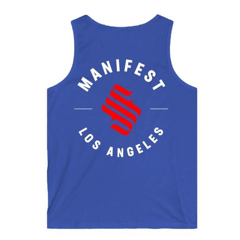 MFS League Royal Blue Tank Top