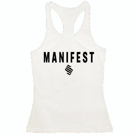 MFS Female Elite Tank Top - White