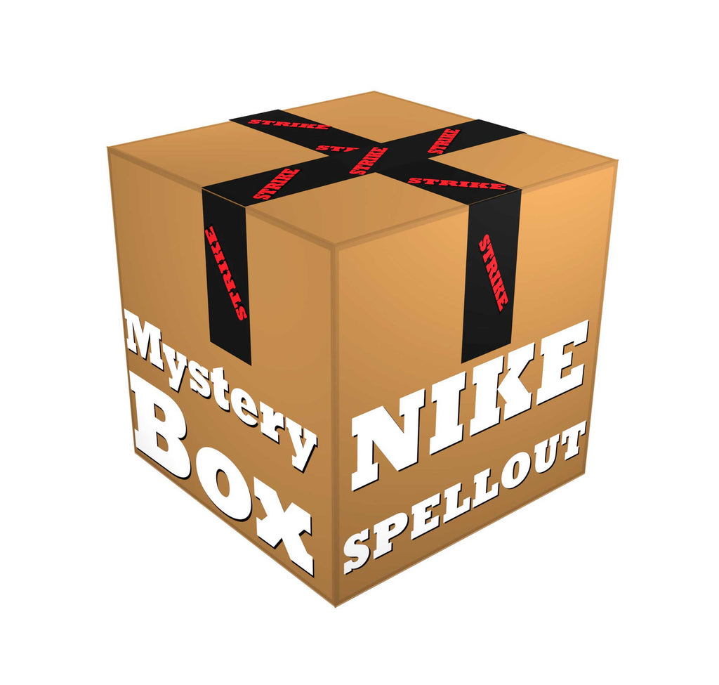 Mystery Box Nike Spellout