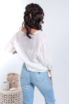 Skye Blouse - White - Islandlace