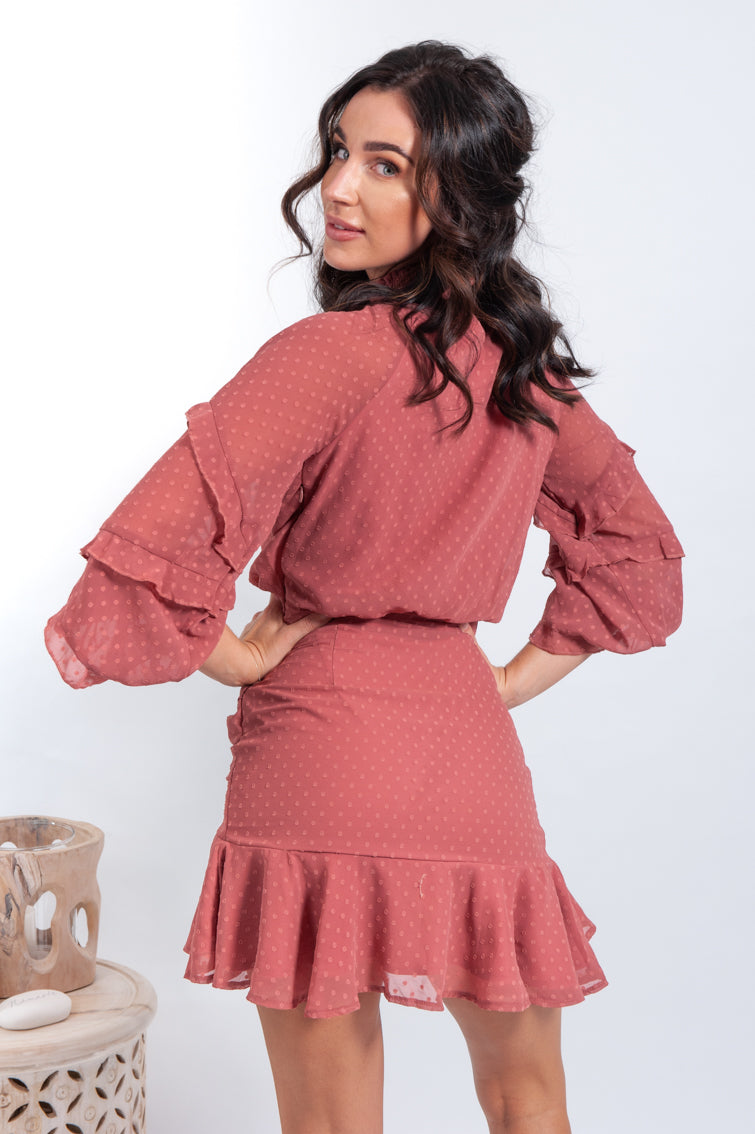 Piper Dress - Mauve - Islandlace