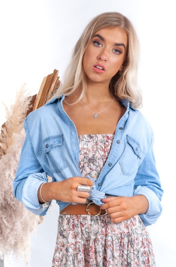 Denim Days Shirt - Islandlace