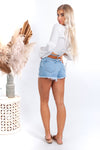 Abrand High Relaxed Shorts - Esmeralda - Islandlace