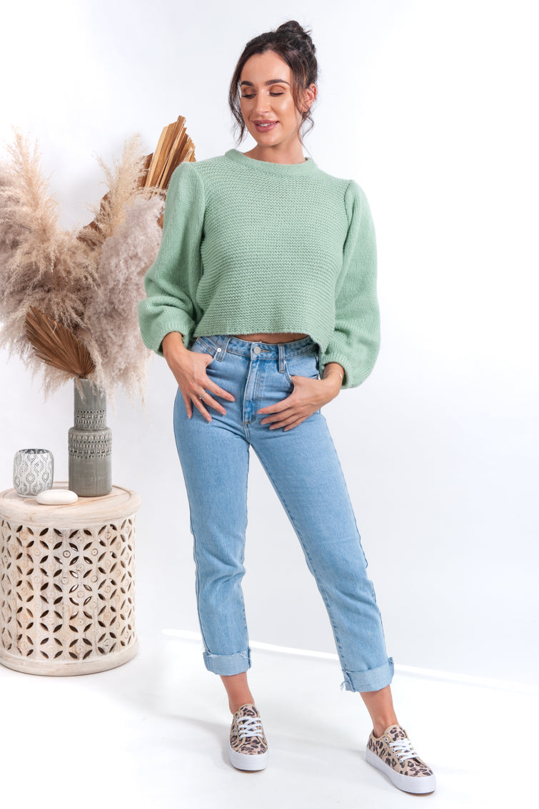 Jade Knit Jumper - Islandlace