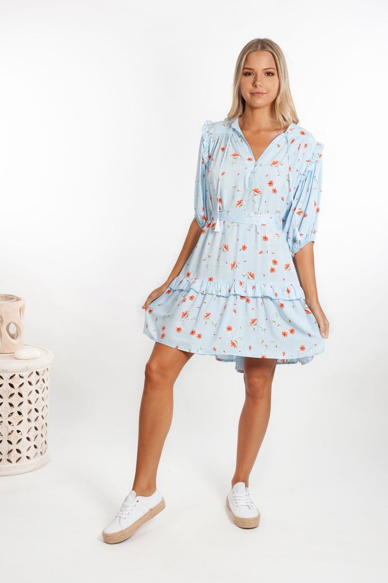 Rombi Dress - Daybreak Print - Islandlace
