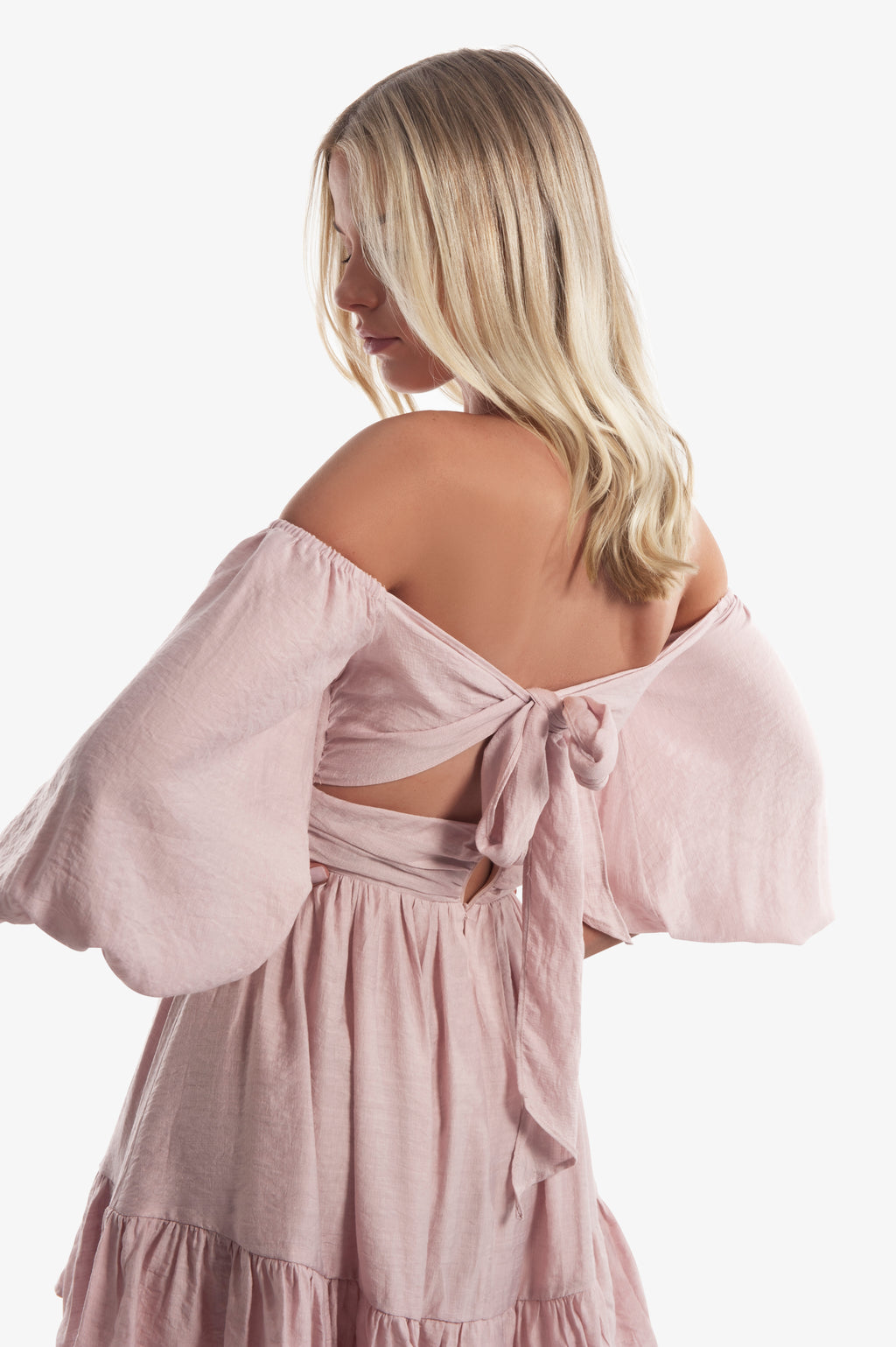 Karli Mini Dress - Blush