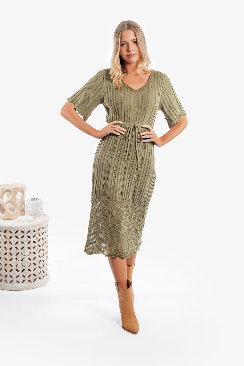 Shiloh Knit Dress - Islandlace