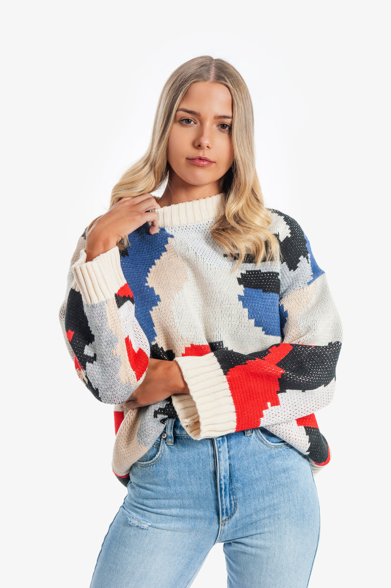 Ava Knit Jumper - Islandlace
