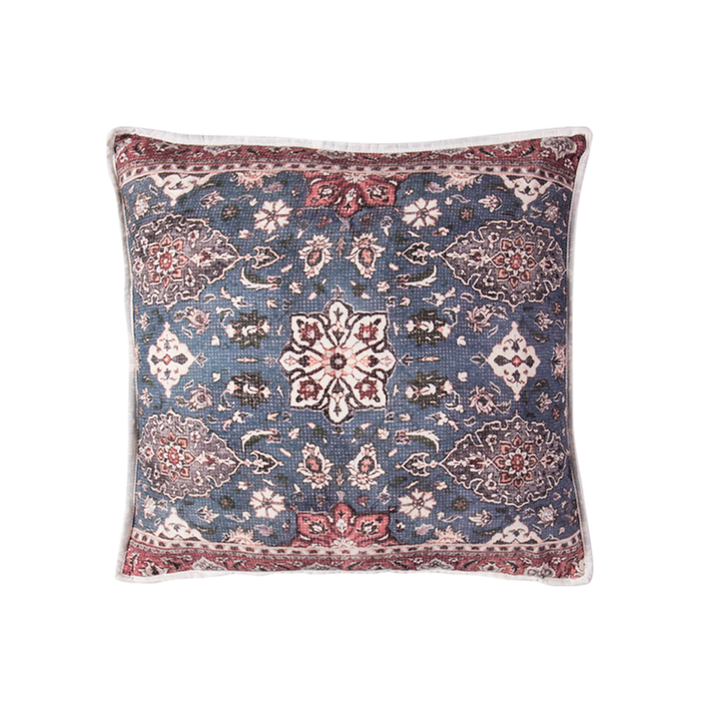 Shiraz Cotton Canvas Cushion - 45cm - Islandlace