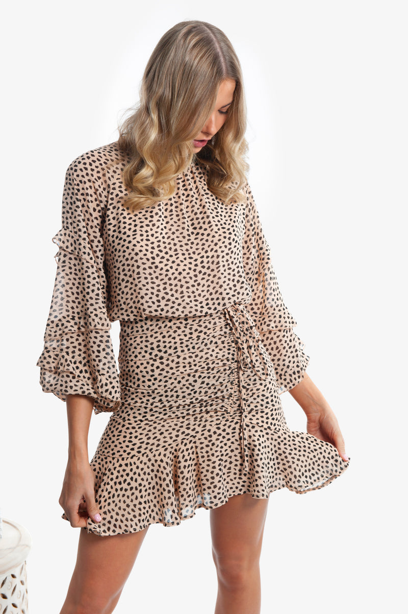 Piper Dress - Leopard Print - Islandlace
