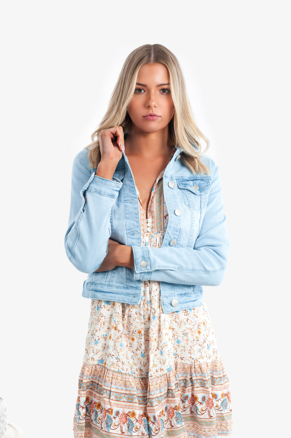 Luella Denim Jacket - Islandlace