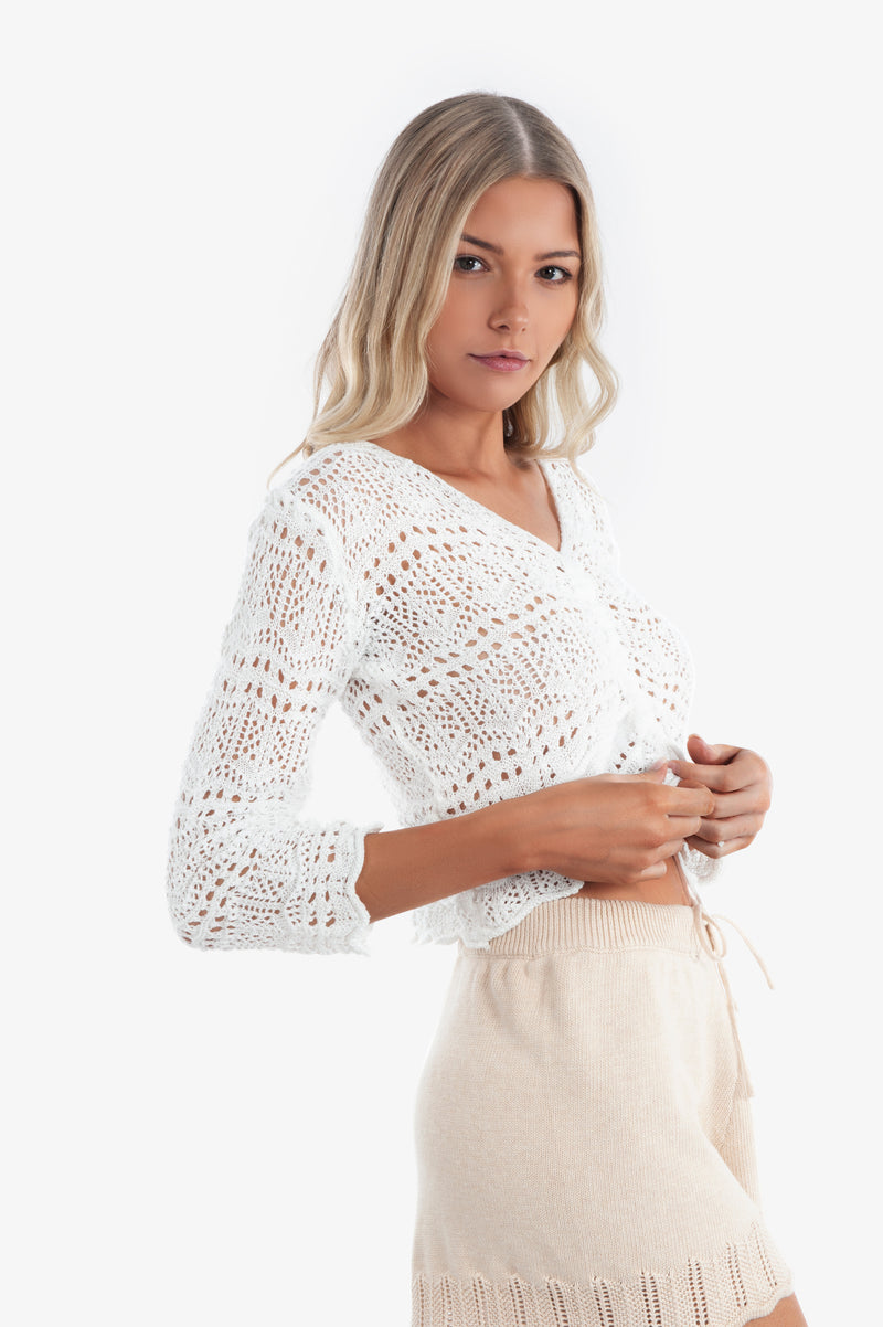 Amy Crochet Crop