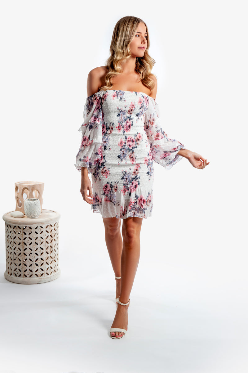 Gail Dress - Floral - Islandlace