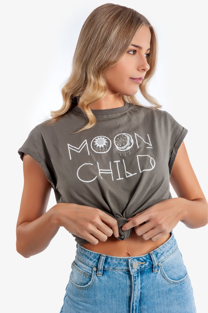 Moon Child Tee - Islandlace