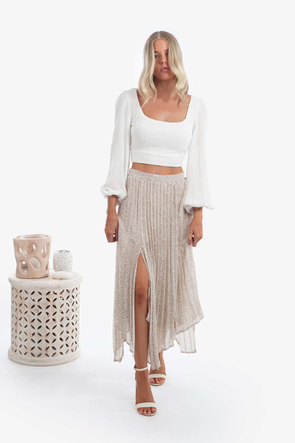 Laney Pleated Skirt