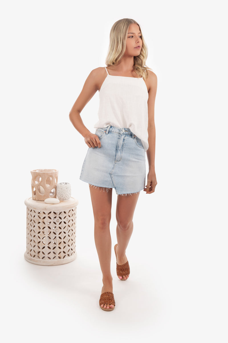 ABrand A-Line Mini Skirt- Wild Thing