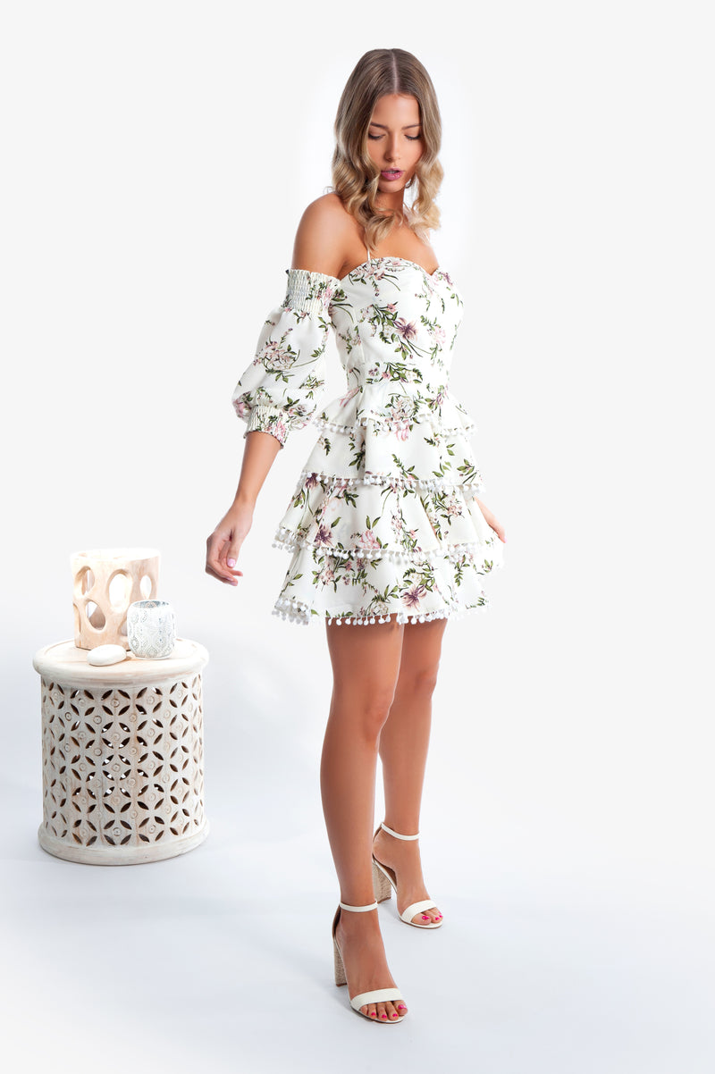 Myra Dress - Cream - Islandlace