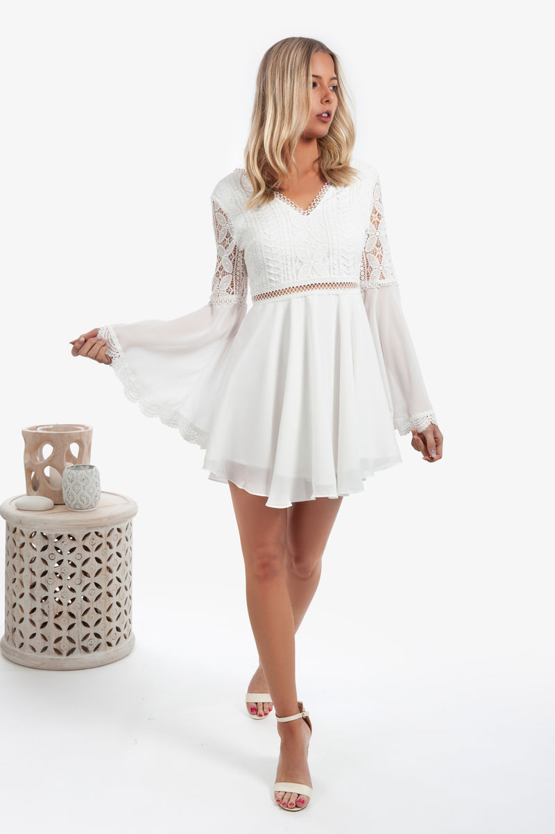 Darcy Dress - White