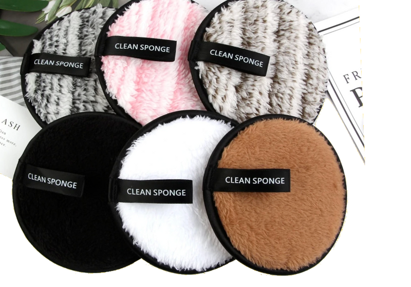 CLEAN SPONGE - Makeup Removal Sponge - FlutterFace - Cosmetics and Beauty