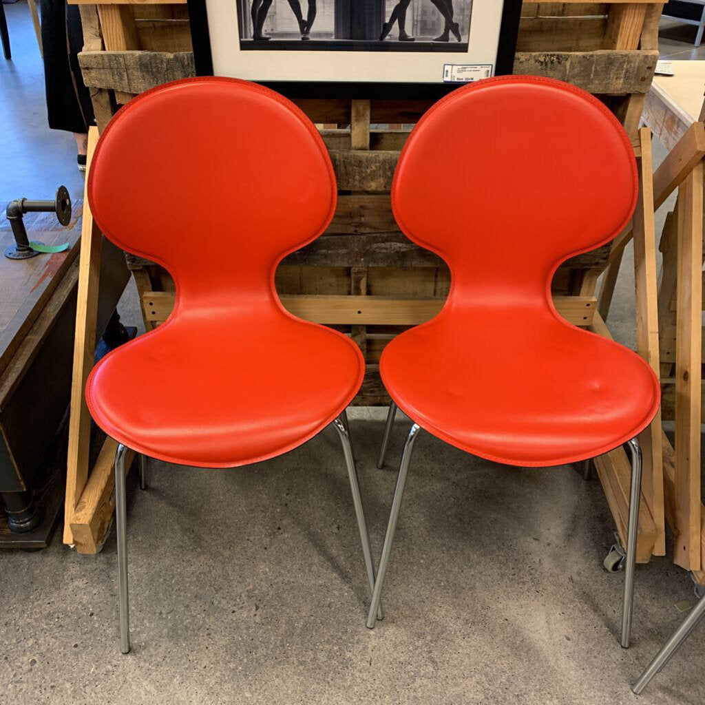 Crate & Barrel Modern Chairs