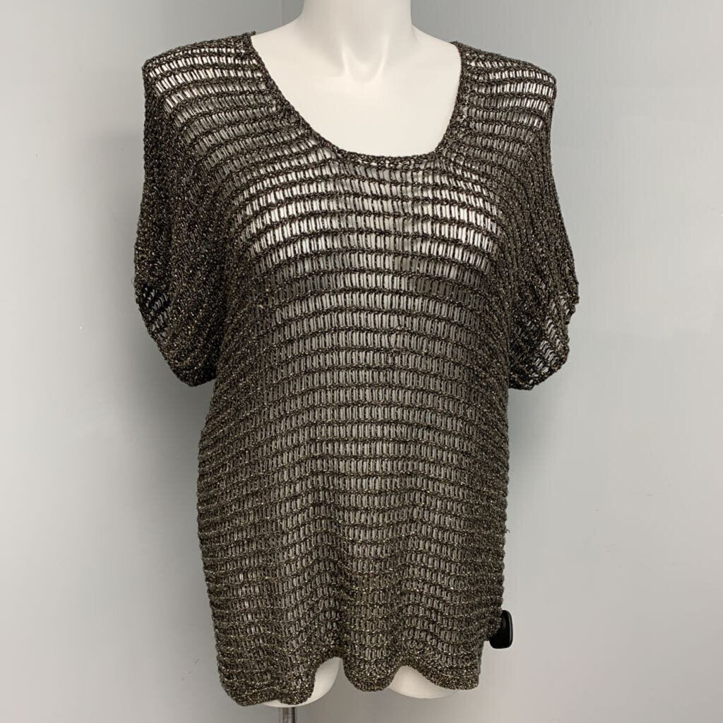Eileen Fisher Metallic Sweater