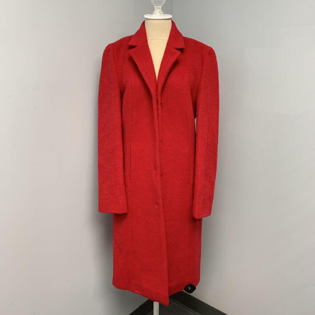 Limited Brushed Wool Coat