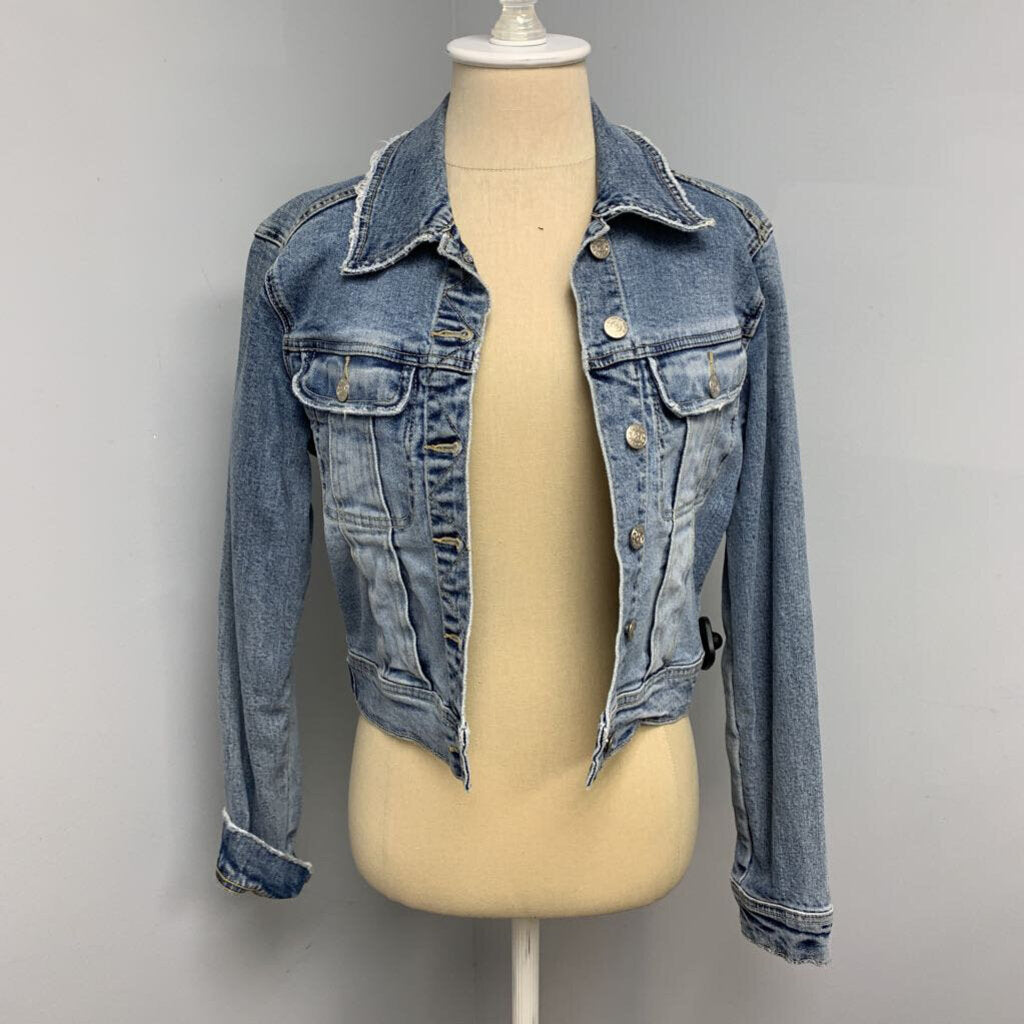 Bebe Distressed Jacket